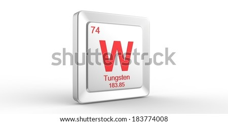 W symbol 74 material tungsten chemical stock illustration 183774008 w symbol 74 material for tungsten chemical element of the periodic table urtaz Gallery