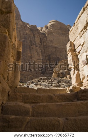 Wadi Rum, Jordan - stock photo