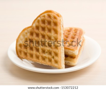 Waffles composition