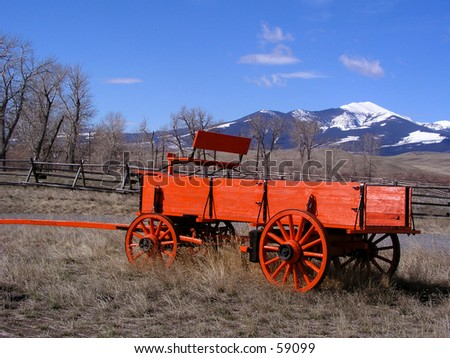 Wagon - stock photo