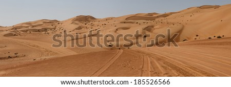Wahiba Sands, desert in Oman