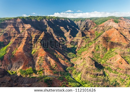 Waimea Canyon, Kauai Island, Hawaii, USA
