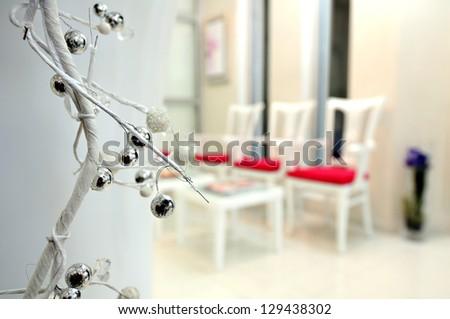 Waiting room - stock photo