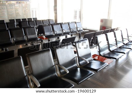 waiting room in an airport