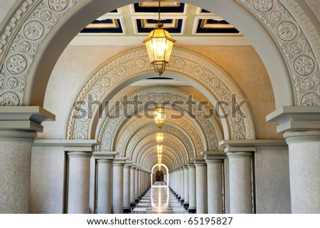 Walkway - stock photo