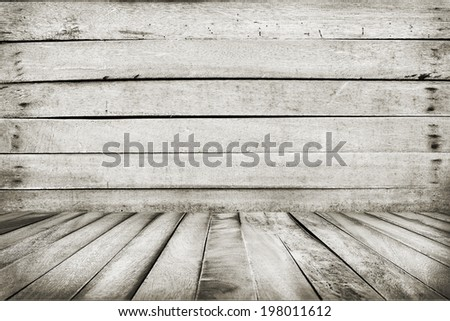 wall and floor siding weathered old wood background