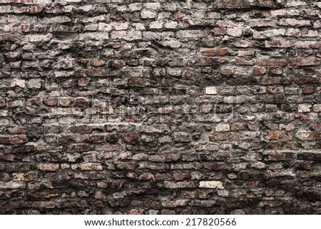wall background - stock photo