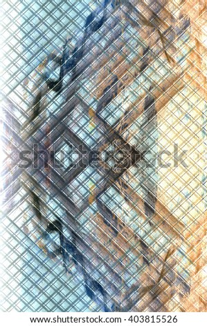 wall background with pattern