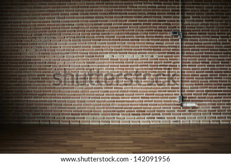wall brick vintage - stock photo