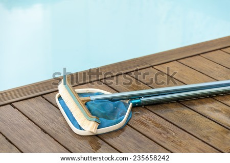 Sweep net stock images royalty free images vectors for Pool deck design tool