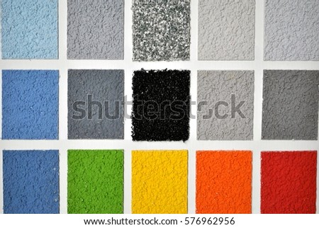 Wall color samples/ palette background; multicolored background.