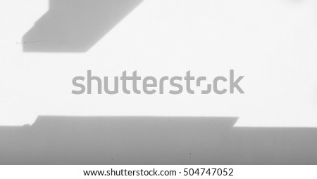 Wall light with shadows