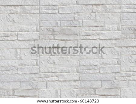 Wall made from bricks pattern - stock photo