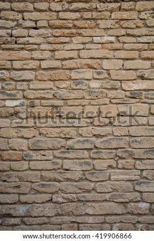 Wall, Mallorca, Balearic Islands, Spain - stock photo