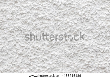 Wall of the plaster
