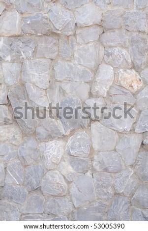 wall rock pattern - stock photo