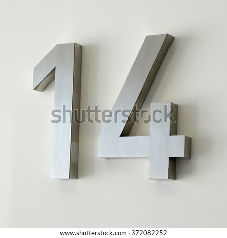 Wall texture number 14 - stock photo
