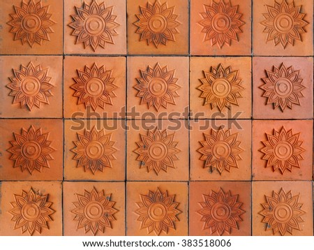 wall tiles/Ceramic tiles/ceramic tiles for wall or floor./brick wall - stock photo