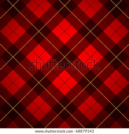 Wallace tartan. Scottish plaid