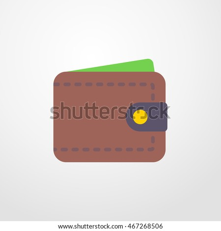 wallet icon. wallet sign