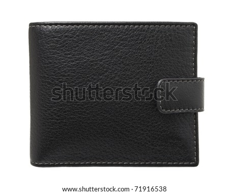 Wallet isolated - stock photo