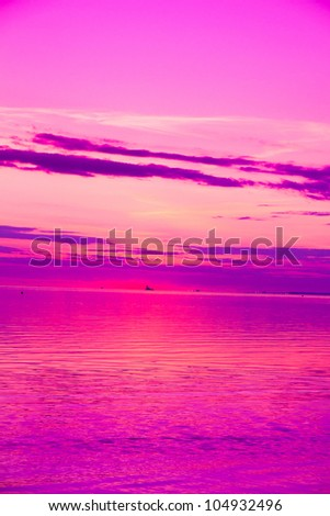 Wallpaper Clouds Skyscape - stock photo