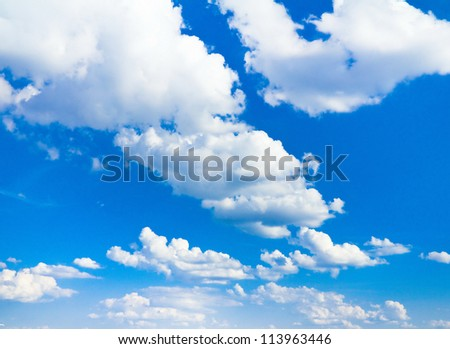 Wallpaper Heavens Skies - stock photo