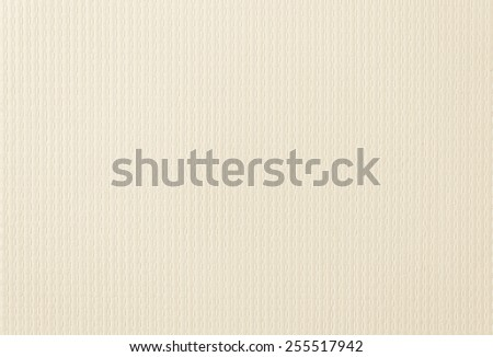 Wallpaper texture background in light cream tone  - stock photo