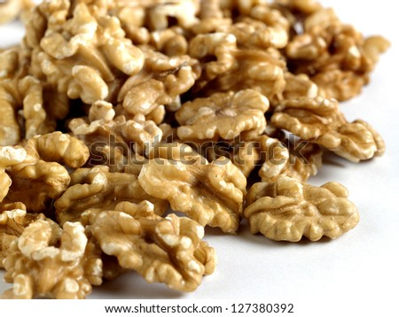 walnut - stock photo