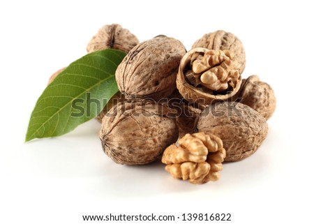 walnuts decoration
