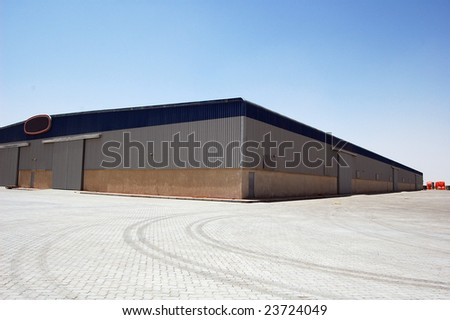 Ware House from outside - stock photo