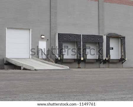 Warehouse Loading Dock or Shipping Facility