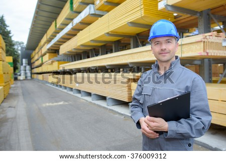 warehouse manager - stock photo