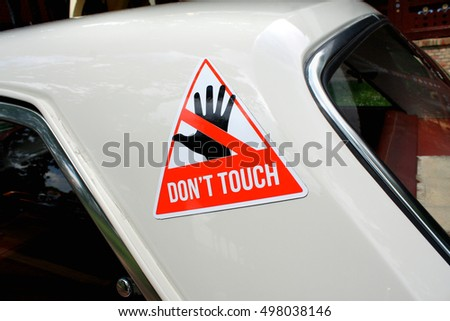 Car Sticker Stock Images RoyaltyFree Images Vectors Shutterstock - Signs of cars with namesbest car signs photos blue maize