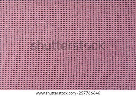 Warp knitted mesh fabric knitted with synthetic yarn - stock photo