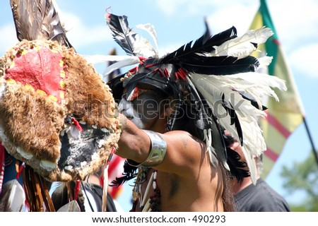 Warrior, Pow Wow, Minneapolis, August 14