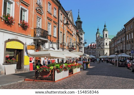 Warsaw - stock photo