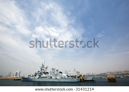 Warships - stock photo