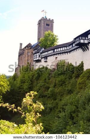 Wartburg Castle - stock photo