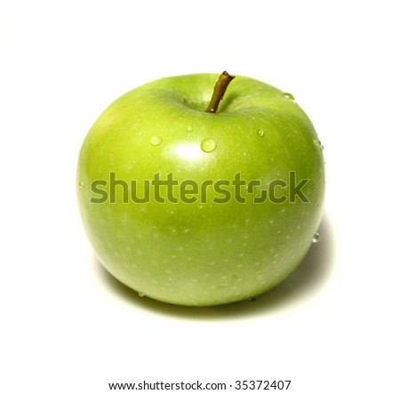 Washed Green Apple