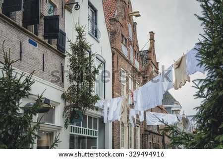 Washing, cleaning before the holiday. - stock photo