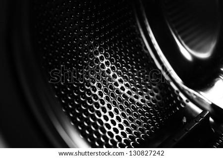 Washing Machine (inside) - stock photo