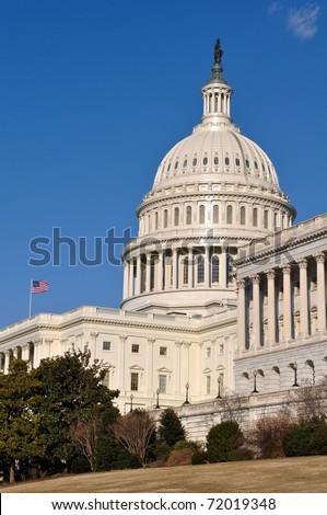 Washington DC Capitol of the United States of America - stock photo