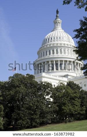 Washington DC , Capitol, US - stock photo