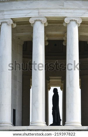Washington DC - Jefferson Memorial close up