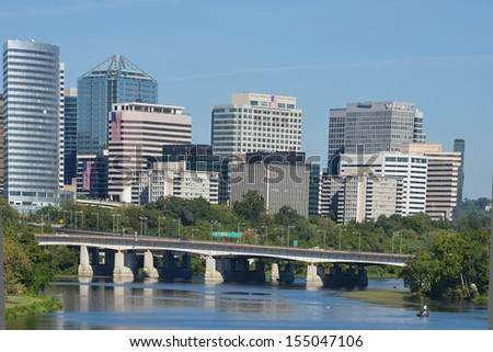 Washington DC, Rosslyn - United States - stock photo