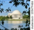 Washington DC - Thomas Jefferson Memorial - stock photo