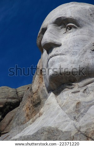 Washington in Mount Rushmore