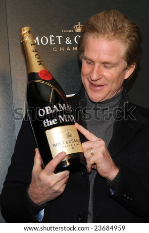 WASHINGTON - JANUARY 19: Actor Matthew Modine arrives for the Creative Coalition dinner on behalf of the presidential inauguration on January 19, 2009 in Washington. - stock photo