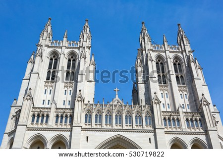 Washington National Cathedral is located in Washington, D.C., USA.
